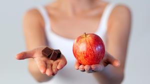 Apfel oder Schokolade?
