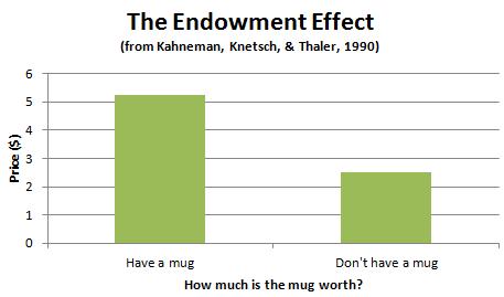 forschung-untersuchung-endowment-effekt