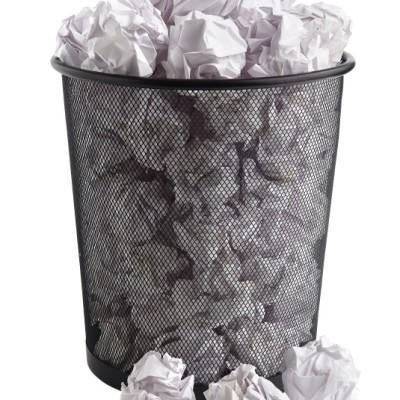 Erfolg: Wer leert den Mülleimer?